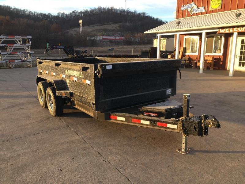 2018 Iron Bull 72X12 Low Pro Dump Trailer