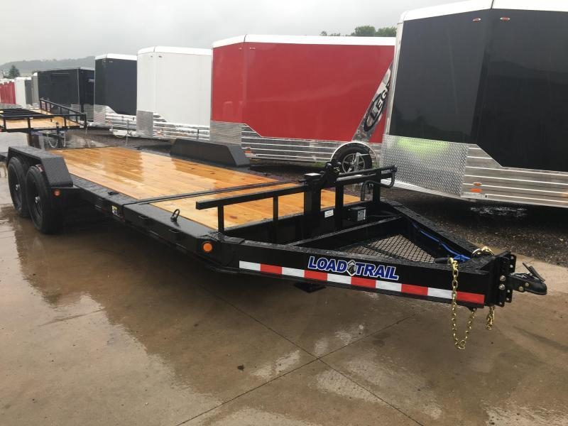 2018 Load Trail 83X20 Gravity Tilt Equipment Trailer