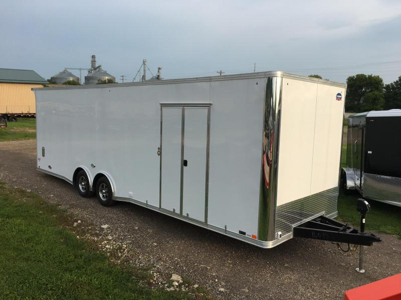 2019 United Trailers 8.5X28 Race Enclosed Cargo Trailer