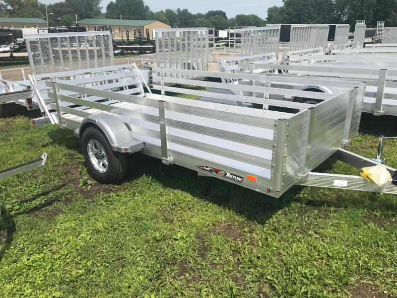 2017 Triton 72X12 Aluminum Utility Trailer