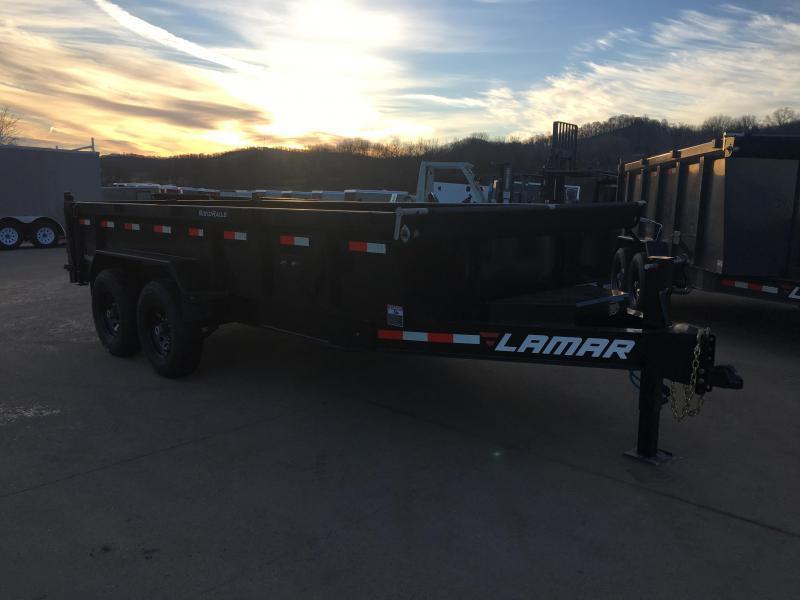 2019 Lamar Trailers 83X16 Low Pro Dump Trailer
