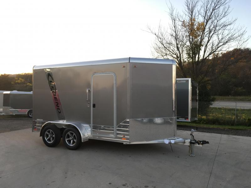 2018 Legend 7X12 Aluminum Enclosed Cargo Trailer