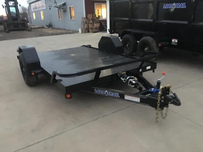 2020 Load Trail 77X12 Scissor Hauler Equipment Trailer