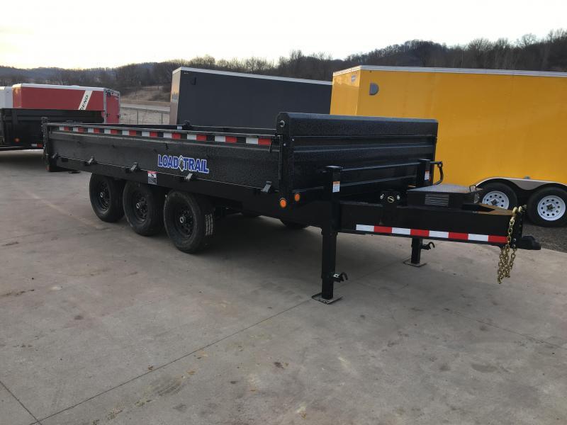 2018 Load Trail 96X16 Deckover Dump Trailer