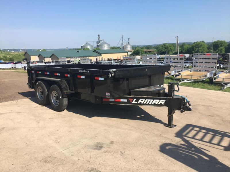 2018 Lamar Trailers 83X14 Low Pro Dump Trailer