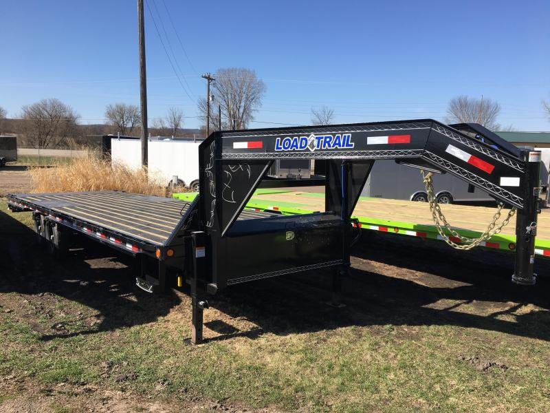 2018 Load Trail 102X28 Gooseneck Tilt Deck Equipment Trailer