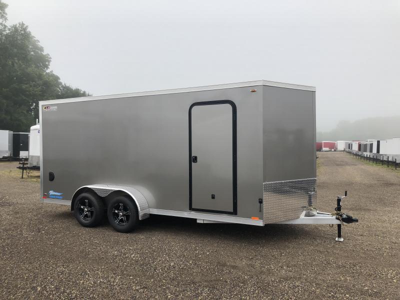 2019 Legend Manufacturing 7X16 Aluminum Enclosed Cargo Trailer