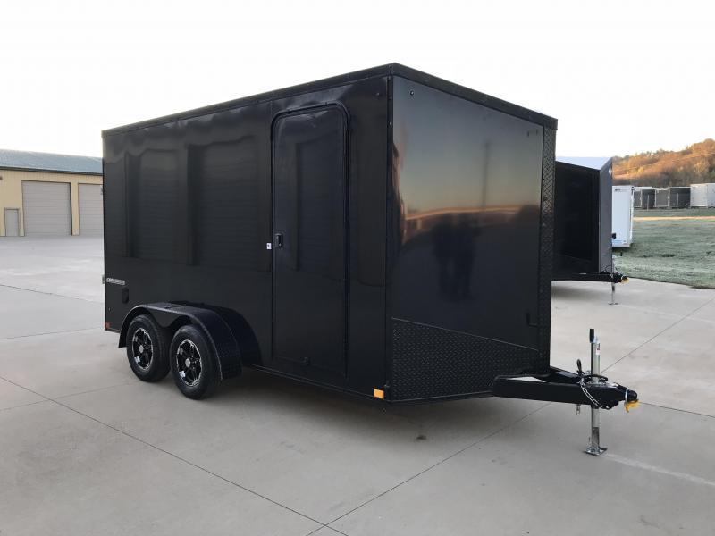 2019 Impact Trailers 7X14 Enclosed Cargo Trailer