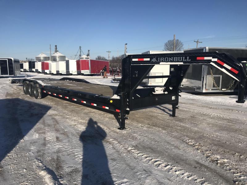 2018 Iron Bull 102X40 Gooseneck Car Hauler