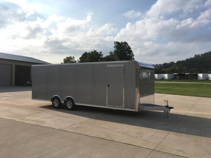 2018 ATC 8.5X24 Aluminum Enclosed Cargo Trailer