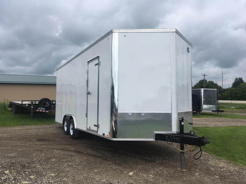 2019 United Trailers 8.5X20 Enclosed Cargo Trailer