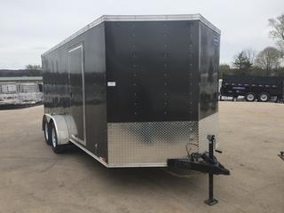 2017 United Trailers 7x16 7K Enclosed Cargo Trailer