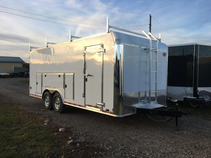2018 United Trailers 8.5X20 Tool Crib Enclosed Cargo Trailer