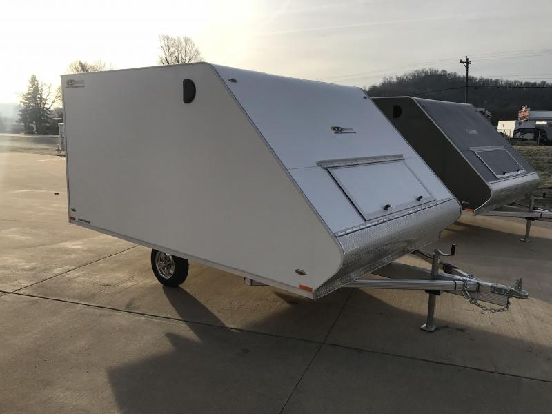 2019 Legend Manufacturing 101X12 Hybrid Snowmobile Trailer