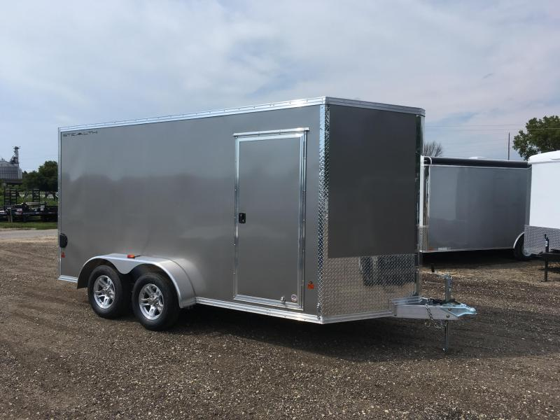 2018 Stealth Trailers 7X14 Aluminum Enclosed Cargo Trailer