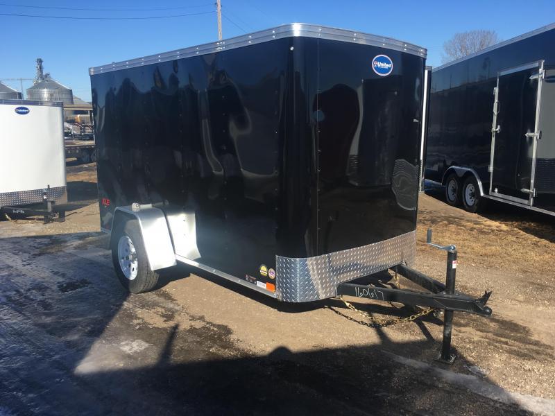 2018 United Trailers 5X10 Enclosed Cargo Trailer
