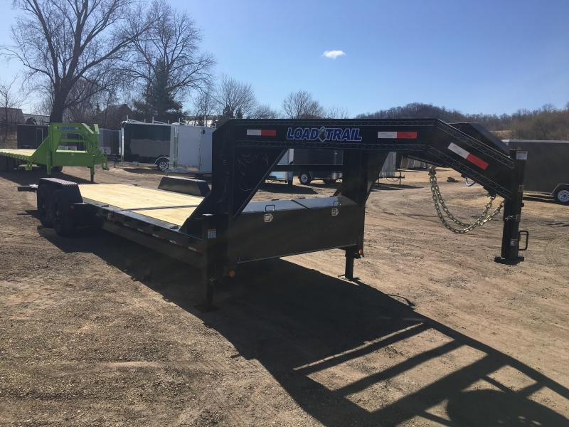 2018 Load Trail 83X24 Gooseneck Gravity Tilt Equipment Trailer