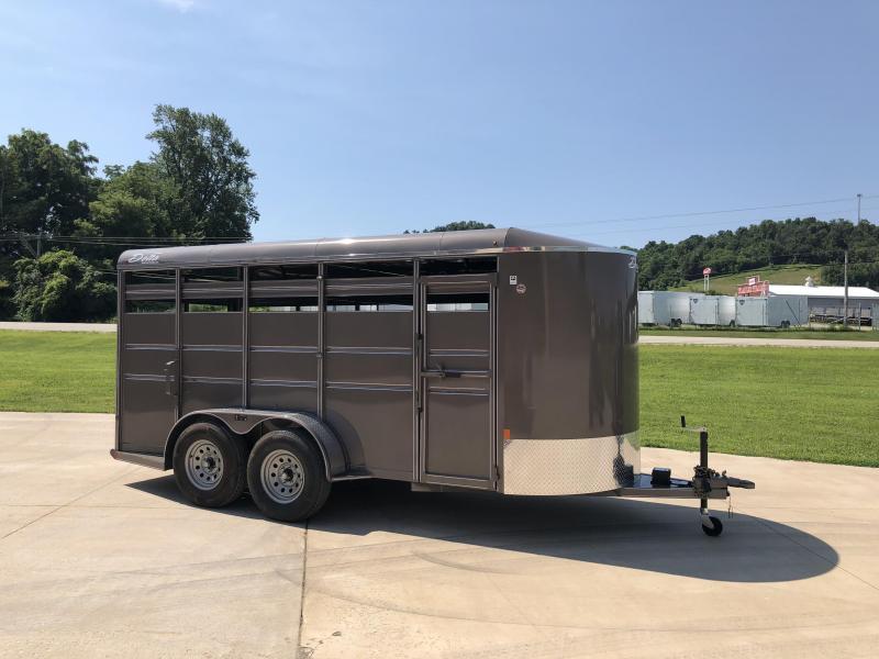 2019 Delta Manufacturing 6X16 Livestock Trailer