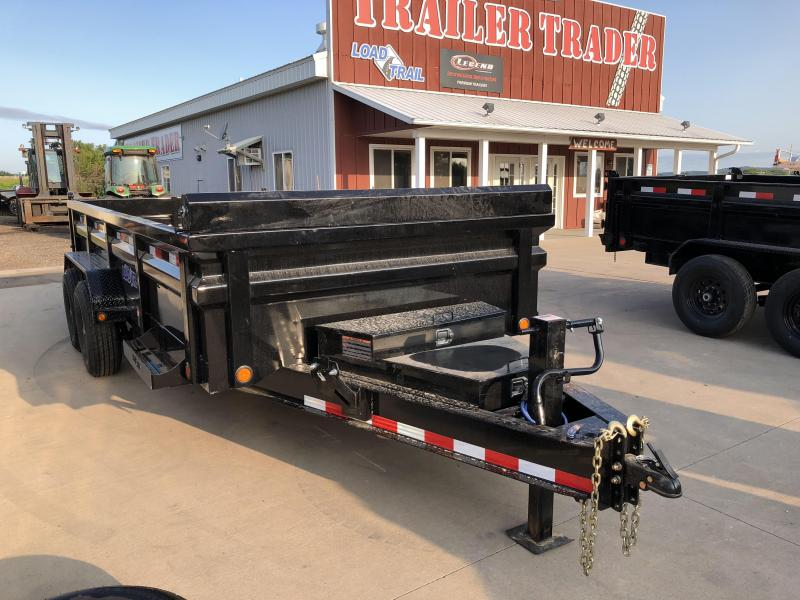 2018 Load Trail 83X16 HD Dump Trailer