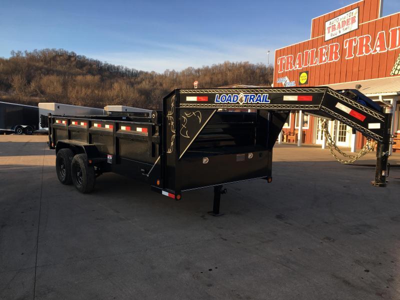 2018 Load Trail 83X16 Gooseneck Dump Trailer