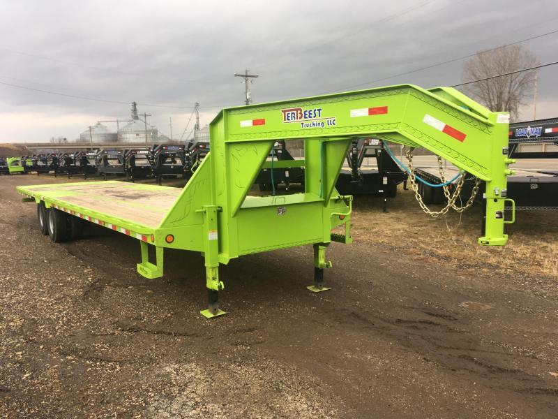 2017 Load Trail 102X32 Gooseneck Hydro Dove Equipment Trailer