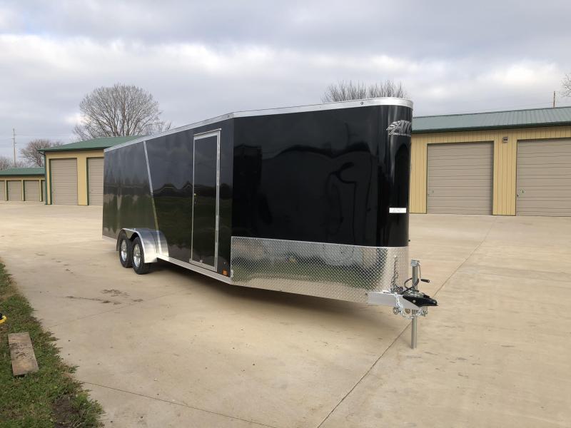 2019 Aluminum Trailer Company 7X28 Inline Snowmobile Trailer