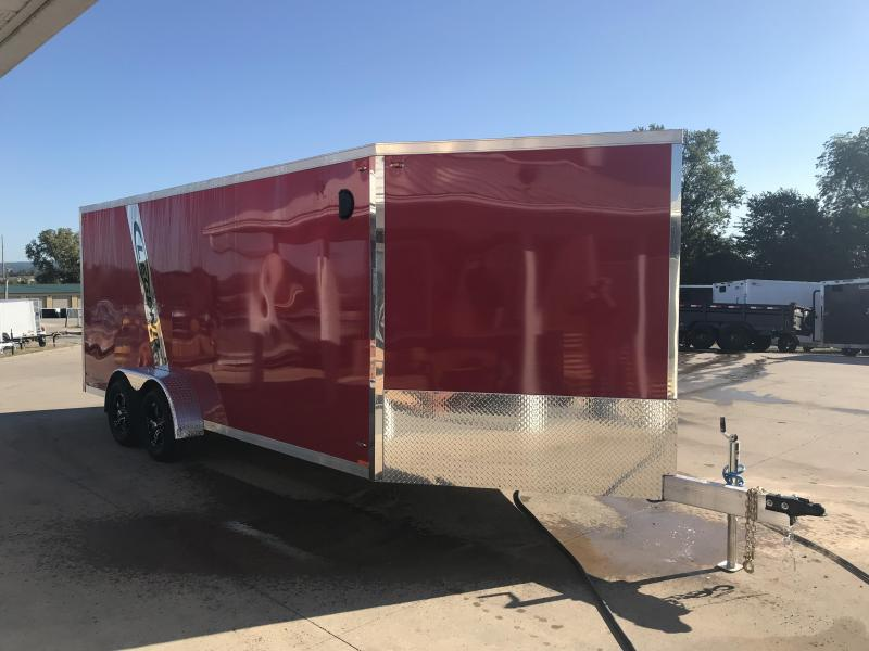 2019 Legend Manufacturing 7X23 Inline Snowmobile Trailer