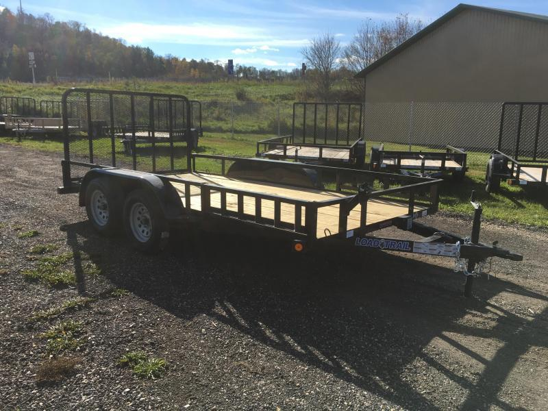 2017 Load Trail 83X14 Tandem Utility Trailer