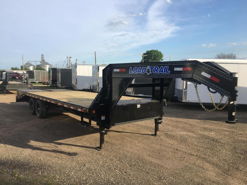 2019 Load Trail 102X25 Gooseneck Deckover Equipment Trailer