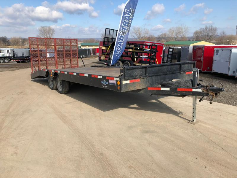 1996 DTS 102X24 Deckover Equipment Trailer