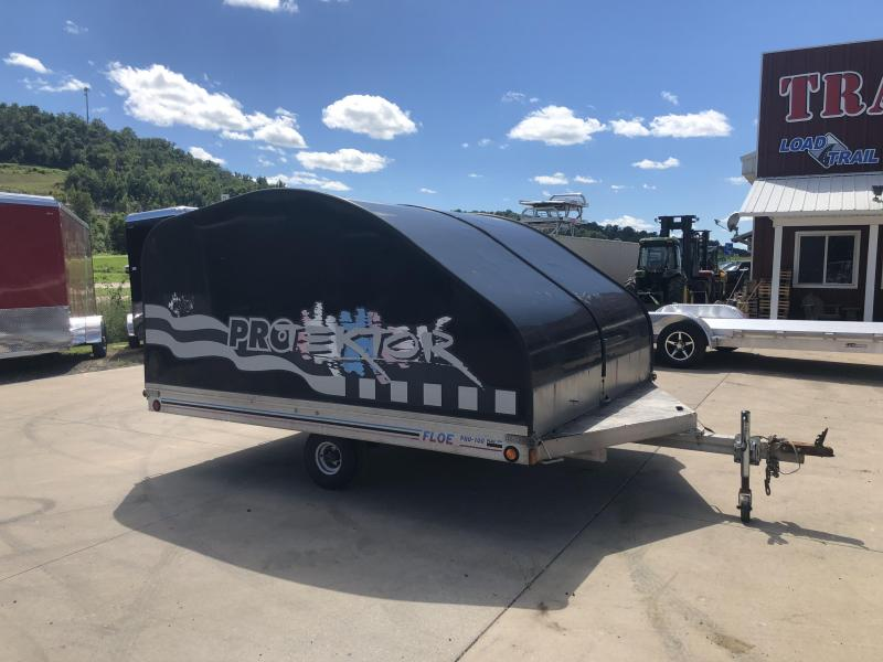 19XX Floe 101X10 Snowmobile Trailer