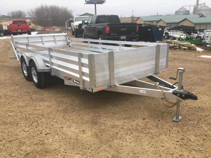2018 Triton 82X16 Aluminum Utility Trailer