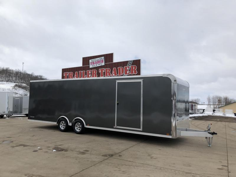 2018 Aluminum Trailer Company 8.5X28 Aluminum Enclosed Cargo Trailer