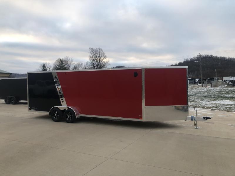 2019 Legend Manufacturing 7X27 Inline Snowmobile Trailer