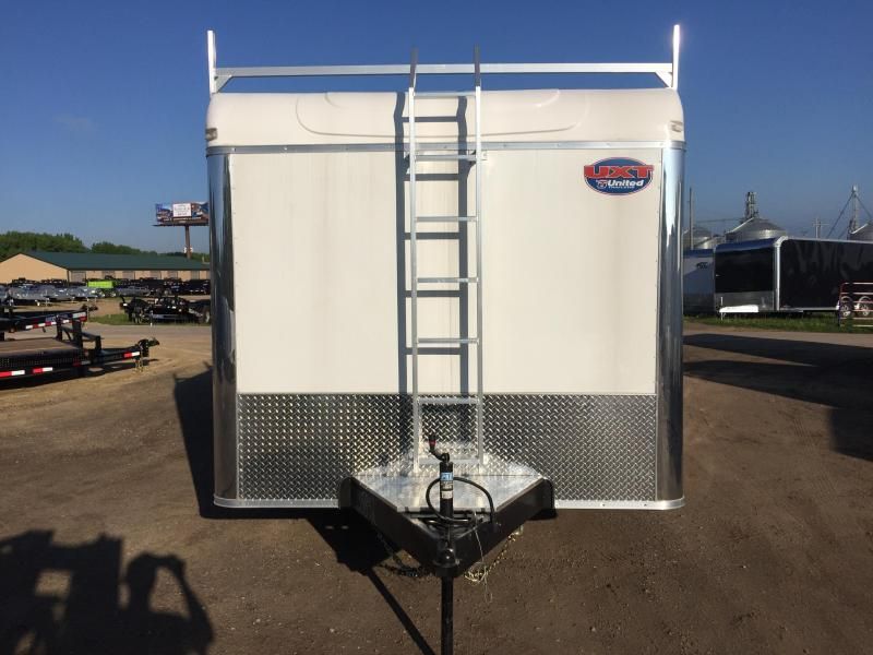 2018 United Trailers 8.5x16 Tool Crib Enclosed Cargo Trailer