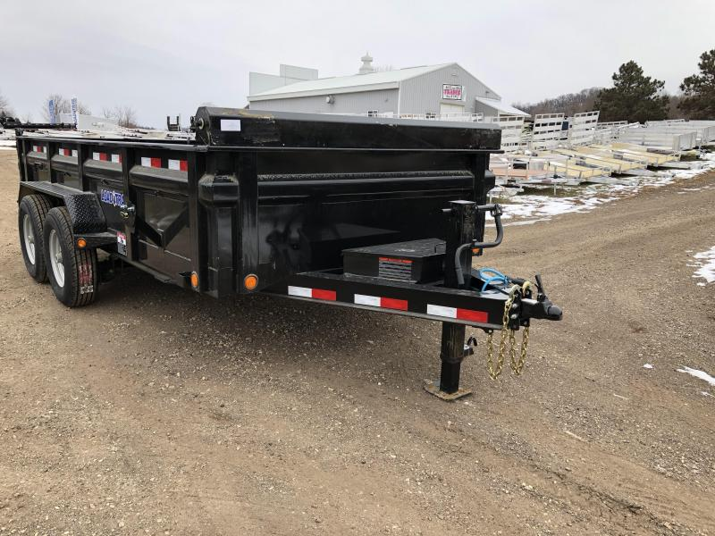 2018 Load Trail 83X14 Low Pro Dump Trailer