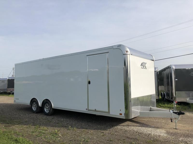 2018 Aluminum Trailer Company 8.5X24 Aluminum Enclosed Cargo Trailer