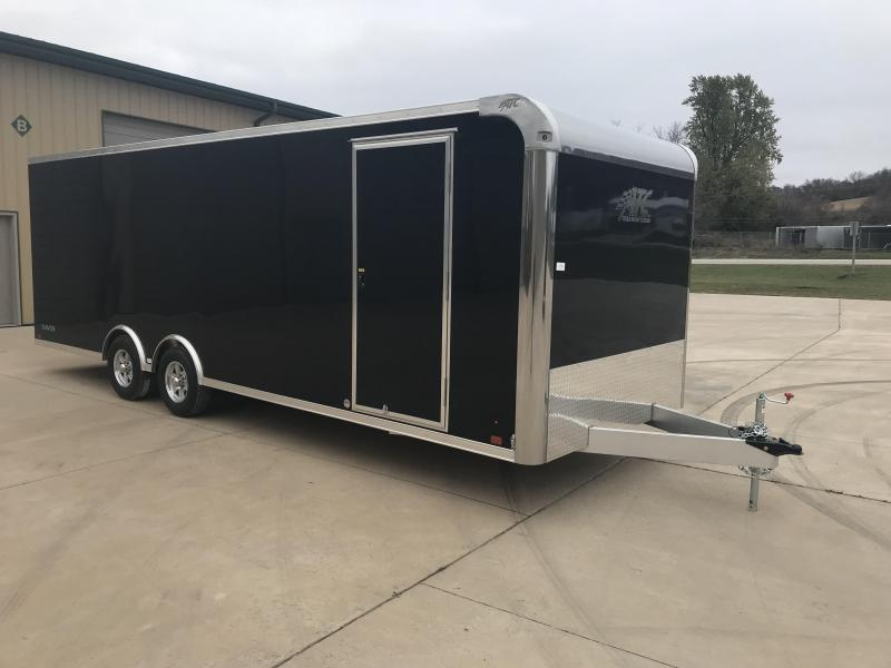 2018 Aluminum Trailer Company 8.5X24 Aluminum Enclosed Cargo Trailer