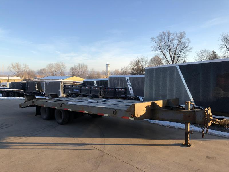 1998 Interstate 102X25 Deckover Equipment Trailer