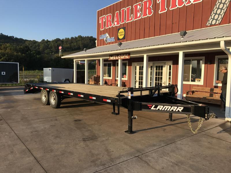 2018 Lamar Trailers 102X24 Deckover Equipment Trailer