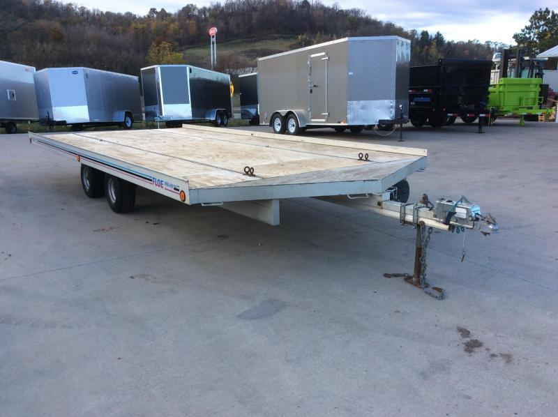 1996 Floe 101X21 Snowmobile Trailer