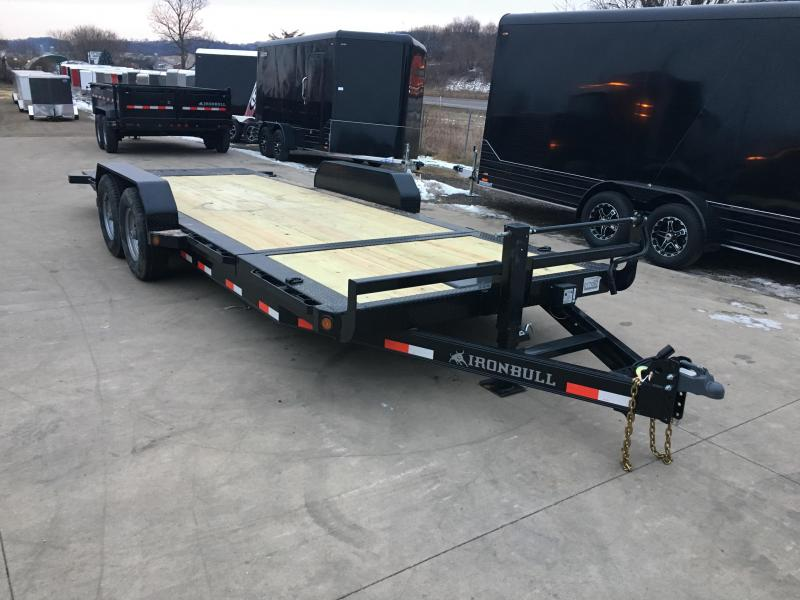 2018 Iron Bull 83X20 Low Pro Tilt Equipment Trailer