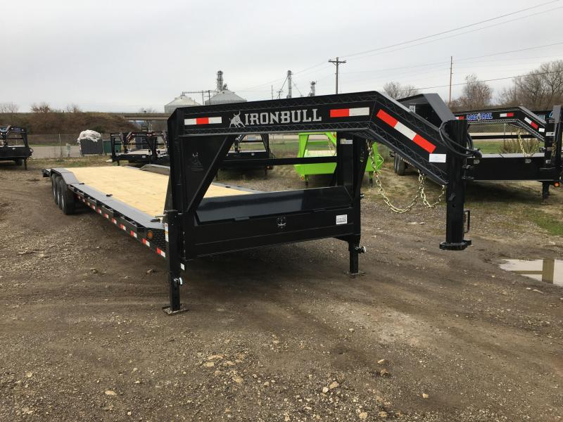 2018 Iron Bull 102X44 Gooseneck Car Hauler