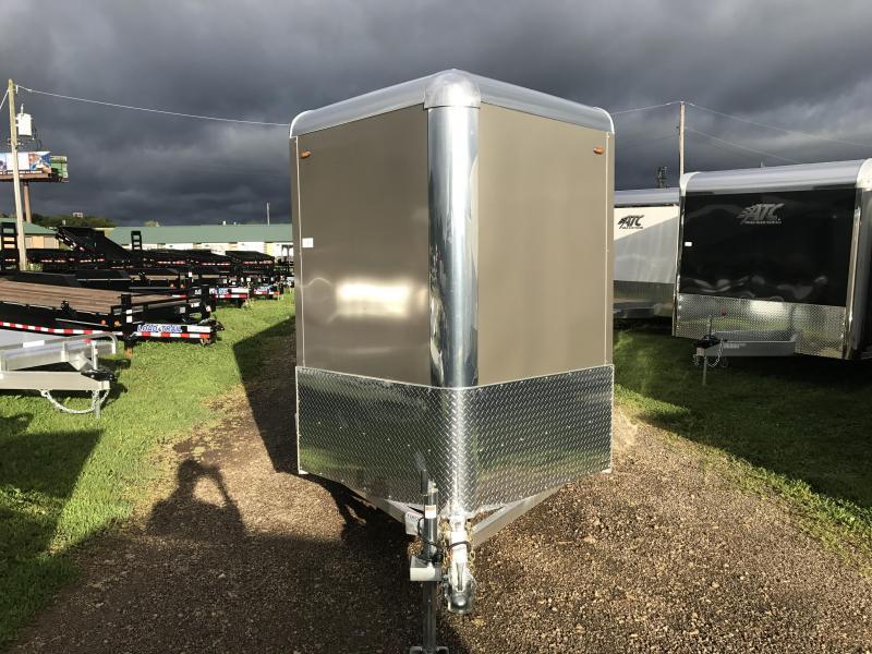 2018 Legend Manufacturing 6X12 Aluminum Enclosed Cargo Trailer