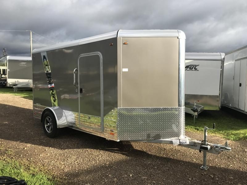 2018 Legend Manufacturing 6X12 Aluminum Enclosed Cargo Trailer