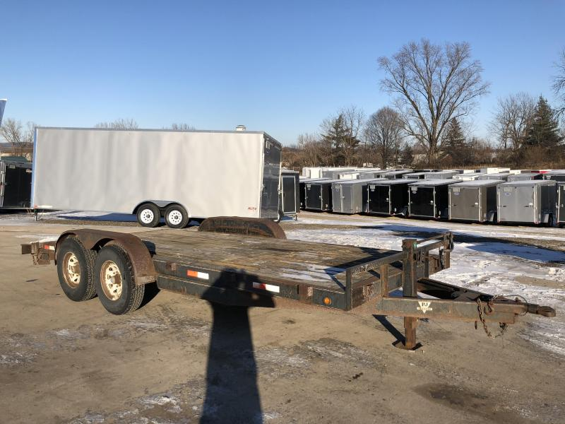 1999 PJ Trailers 83X18 Car Hauler