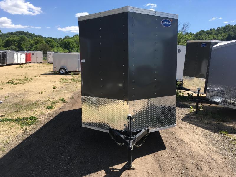 2017 United 6X12 3K Enclosed Cargo Trailer