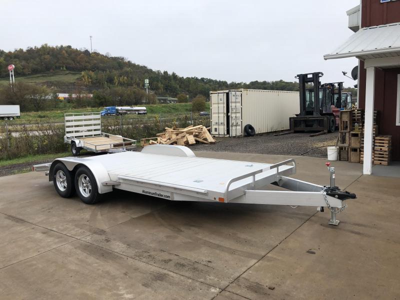 2017 Aluminum Trailer Company 82X18 Aluminum Car Hauler