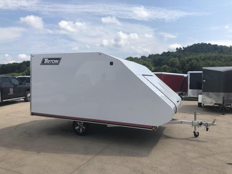 2019 Triton 101X12 Hybrid Snowmobile Trailer
