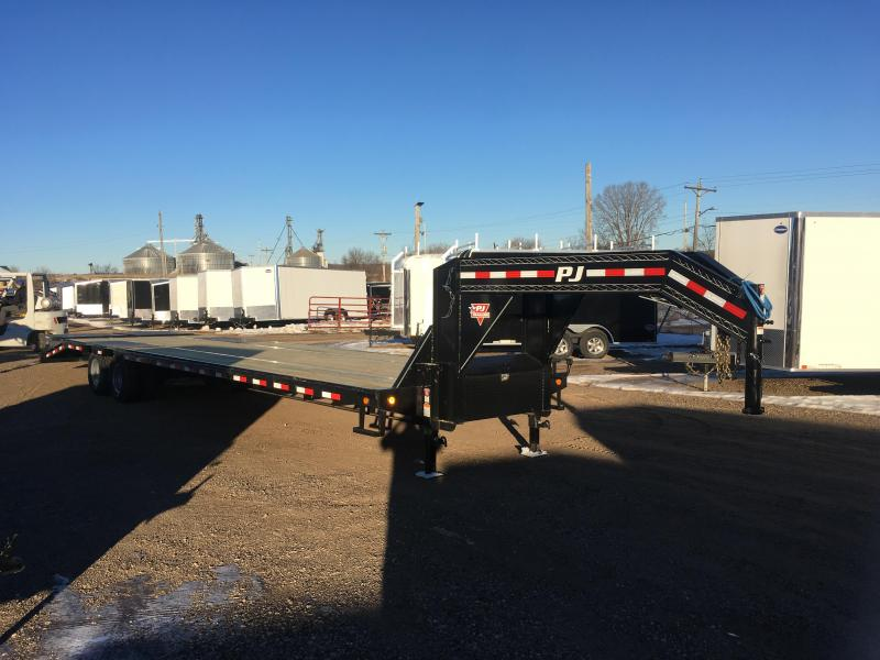 2019 PJ Trailers 102X36 Gooseneck Deckover Equipment Trailer